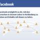 Geschäftsmodell von Facebook